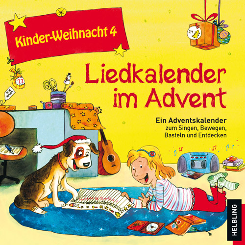 Kinder Weihnacht 4 Liedkalender Im Advent Cd